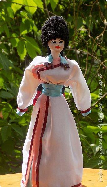 Девичий и женский алтайские народные костюмы фото 2