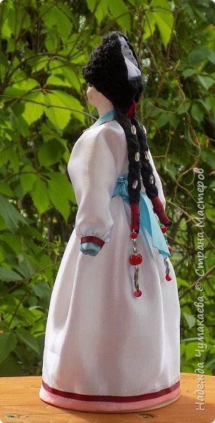 Девичий и женский алтайские народные костюмы фото 3