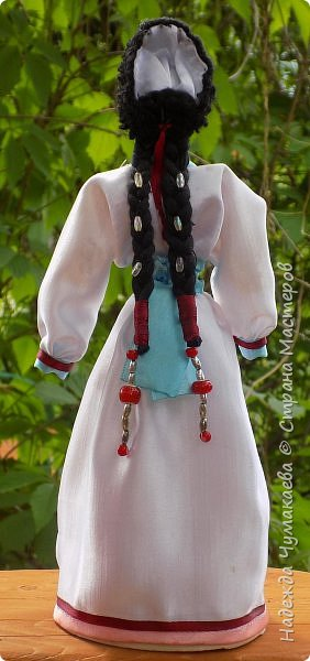 Девичий и женский алтайские народные костюмы фото 4