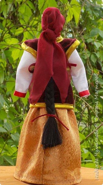 Девичий и женский алтайские народные костюмы фото 6