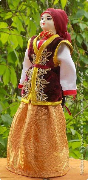 Девичий и женский алтайские народные костюмы фото 7