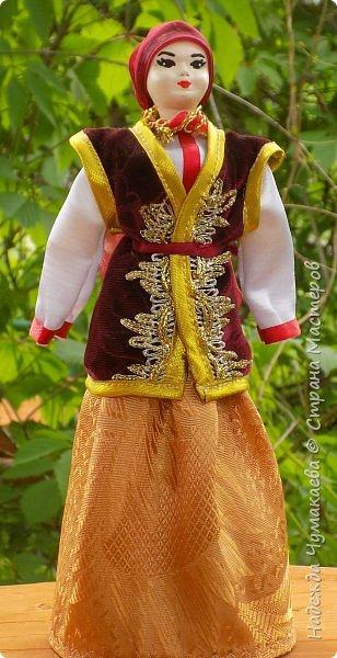 Девичий и женский алтайские народные костюмы фото 5