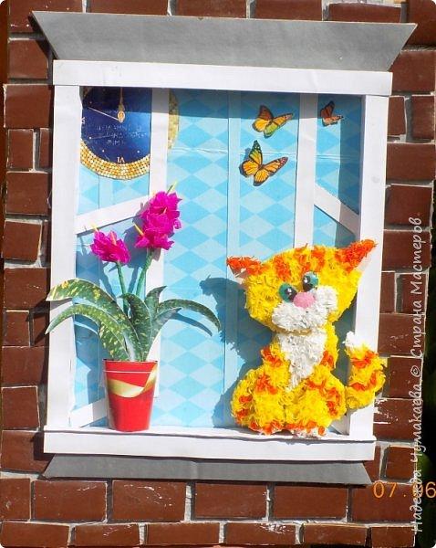 Вот такой котенок поселился у меня на окне. фото 6
