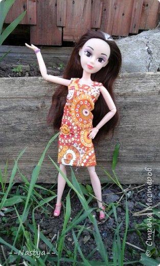 Привет!На выходных я решила взять кукол с собой в деревню и пофотографировать их.Вот что из этого вышло... фото 5