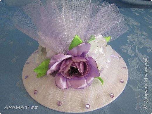 Здравствуйте!!! Сделала вот такой наборчик на свадьбу. Свадьба будет в сиреневых тонах.  фото 19