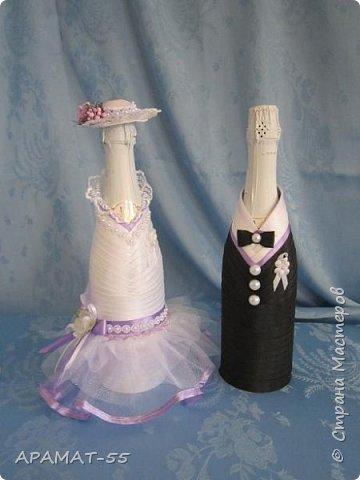 Здравствуйте!!! Сделала вот такой наборчик на свадьбу. Свадьба будет в сиреневых тонах.  фото 4