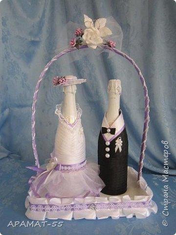Здравствуйте!!! Сделала вот такой наборчик на свадьбу. Свадьба будет в сиреневых тонах.  фото 2