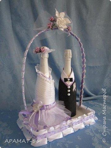 Здравствуйте!!! Сделала вот такой наборчик на свадьбу. Свадьба будет в сиреневых тонах.  фото 3