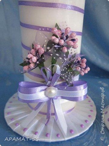 Здравствуйте!!! Сделала вот такой наборчик на свадьбу. Свадьба будет в сиреневых тонах.  фото 11