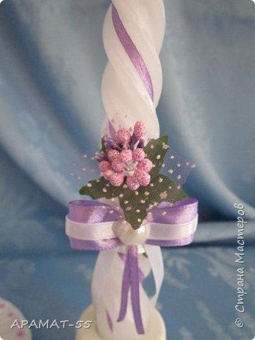 Здравствуйте!!! Сделала вот такой наборчик на свадьбу. Свадьба будет в сиреневых тонах.  фото 12
