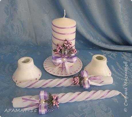 Здравствуйте!!! Сделала вот такой наборчик на свадьбу. Свадьба будет в сиреневых тонах.  фото 13