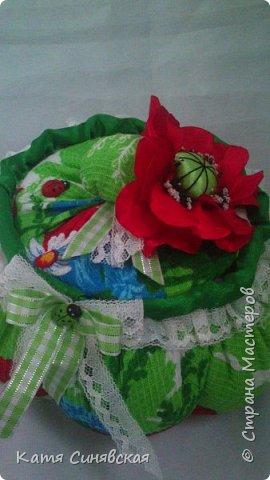 Вот такой наборчик делала сестрёнке на ДР. Шкатулочка, полотенечко и 2 прихваточки. фото 5