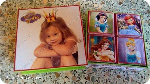 Шоколадные наборчики для принцессы Софии фото 15