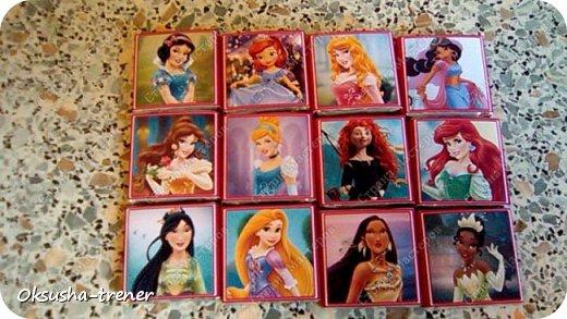 Шоколадные наборчики для принцессы Софии фото 18