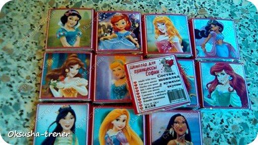 Шоколадные наборчики для принцессы Софии фото 19
