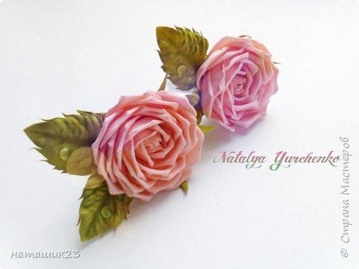 Роза из фоамирана МК+ бонус фото 2