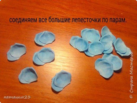 Роза из фоамирана МК+ бонус фото 16