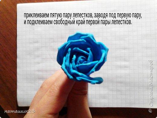 Роза из фоамирана МК+ бонус фото 29