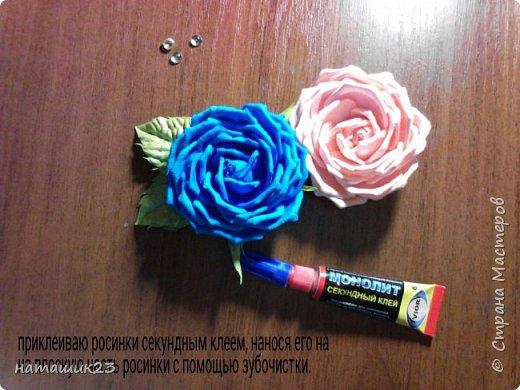 Роза из фоамирана МК+ бонус фото 44