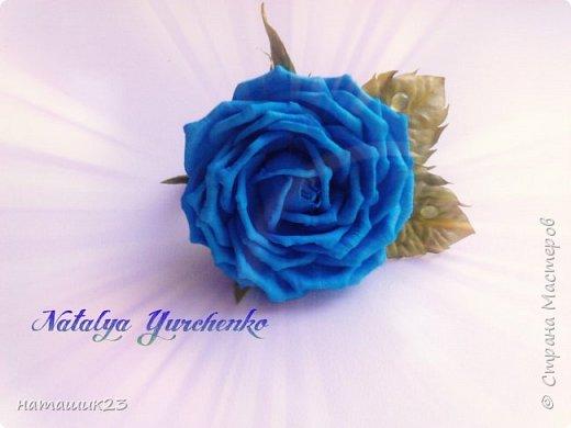 Роза из фоамирана МК+ бонус фото 1