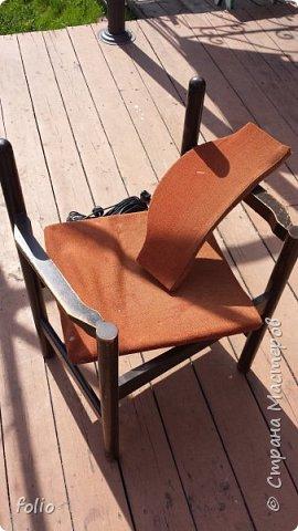 Друзьям обещала привести в порядок стул. В прошлом году занималась подобной работой.  А начиналось все вот так: фото 2