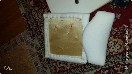 Друзьям обещала привести в порядок стул. В прошлом году занималась подобной работой.  А начиналось все вот так: фото 4