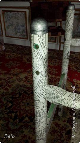 Друзьям обещала привести в порядок стул. В прошлом году занималась подобной работой.  А начиналось все вот так: фото 12