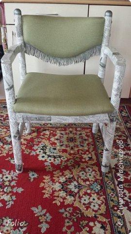 Друзьям обещала привести в порядок стул. В прошлом году занималась подобной работой.  А начиналось все вот так: фото 18