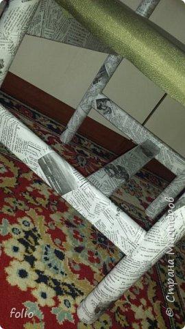 Друзьям обещала привести в порядок стул. В прошлом году занималась подобной работой.  А начиналось все вот так: фото 19
