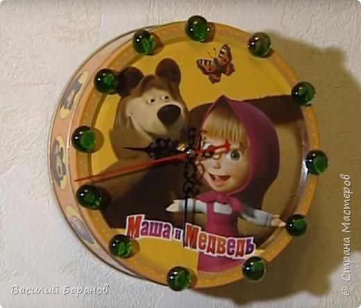 Часы настенные «Маша и Медведь»