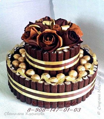 Торты из шоколада. фото 2