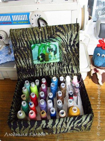Шкатулочка с прозрачными кармашками, из пластиковой бутылки. фото 3