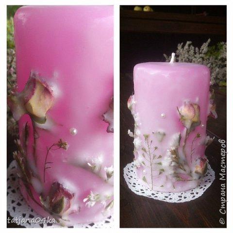 декор свечей фото 1