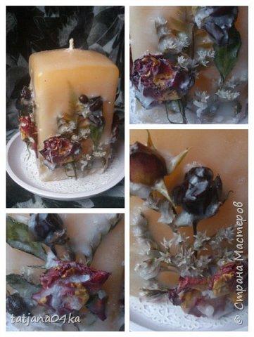 декор свечей фото 2