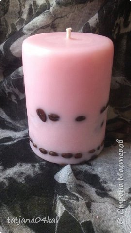 декор свечей фото 11