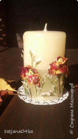 декор свечей фото 14