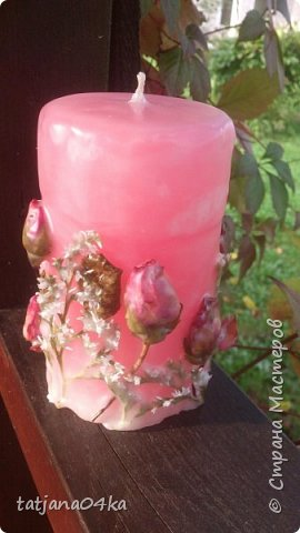 декор свечей фото 20