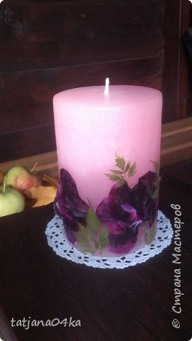 декор свечей фото 18