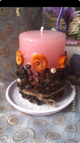 декор свечей фото 15
