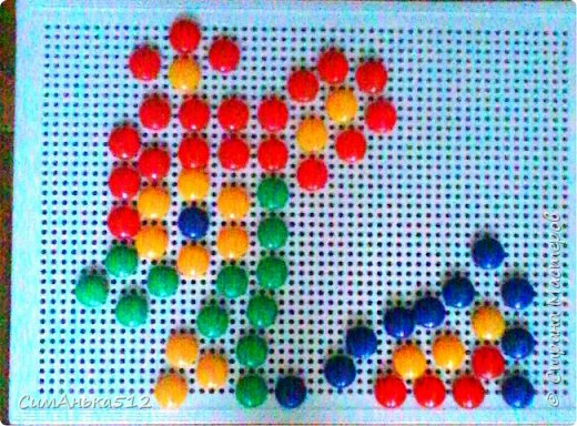 Бемби из мозаики фото 1
