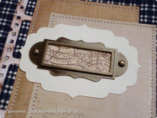 Текстильный блокнот для мужчины фото 3
