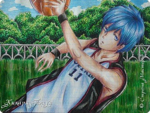 """Да-да, это Куроко Тэцуя из аниме """"Баскетбол Куроко"""". Самый-самый из Поколения Чудес... фото 1"""