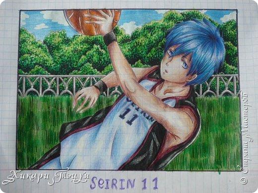 """Да-да, это Куроко Тэцуя из аниме """"Баскетбол Куроко"""". Самый-самый из Поколения Чудес... фото 2"""