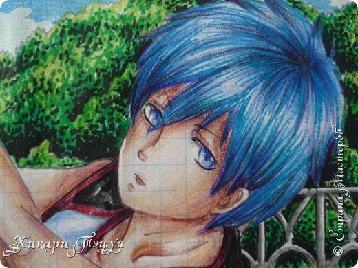 """Да-да, это Куроко Тэцуя из аниме """"Баскетбол Куроко"""". Самый-самый из Поколения Чудес... фото 3"""
