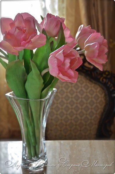 Букет пионовидных тюльпанов. фото 2