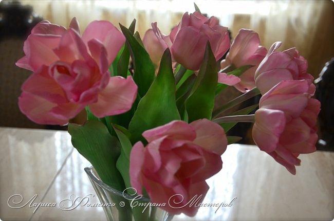 Букет пионовидных тюльпанов. фото 3