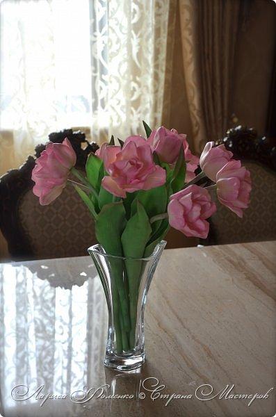 Букет пионовидных тюльпанов. фото 4