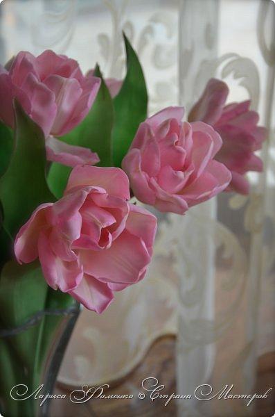 Букет пионовидных тюльпанов. фото 5