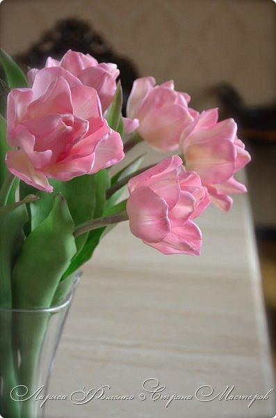 Букет пионовидных тюльпанов. фото 1