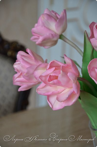 Букет пионовидных тюльпанов. фото 12